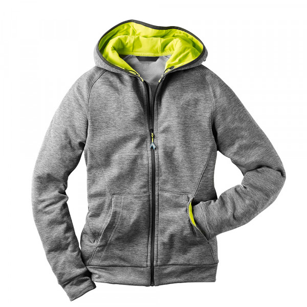 HAIX Fleece Hoody Tecnostretch grey