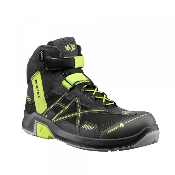 HAIX CONNEXIS Safety GTX S3 mid grey-citrus