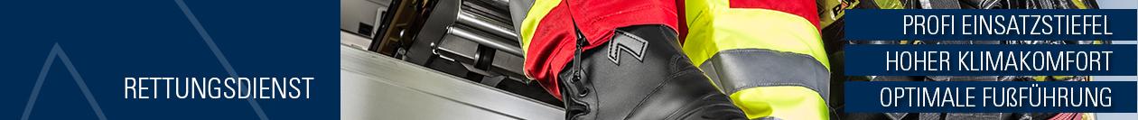 HAIX Rettungsdienstschuhe – Einsatzstiefel, die Ihnen zu jeder Zeit Halt und Sicherheit geben!