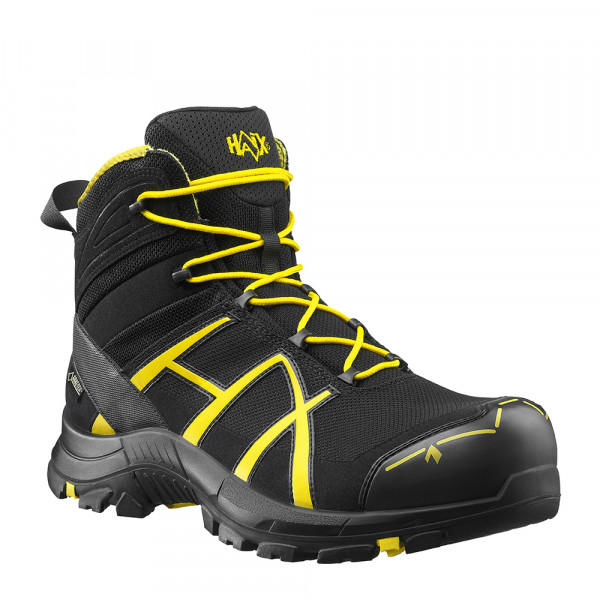 HAIX Black Eagle Safety 40 mid/black-yellow