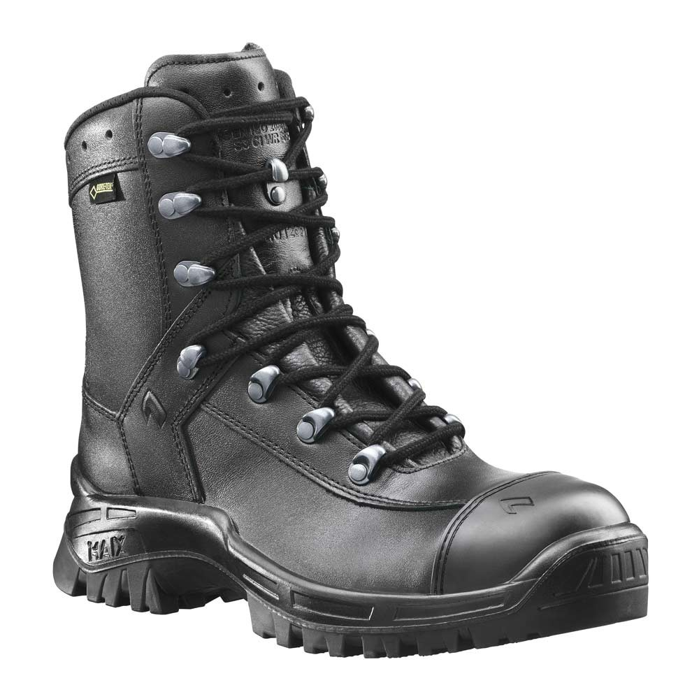 Black Leather Gore Tex Shoes