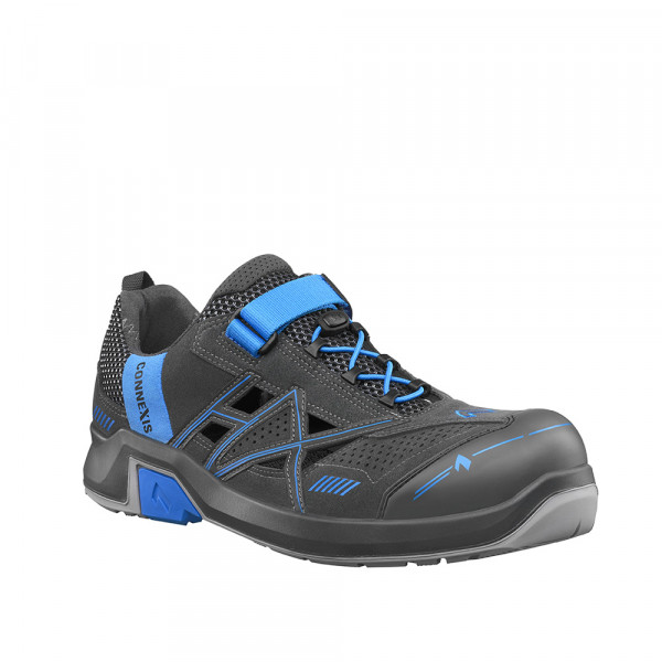 HAIX CONNEXIS Safety Air S1 low grey-blue
