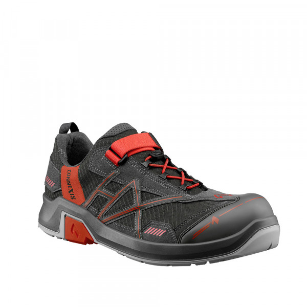 HAIX CONNEXIS Safety T S1 low/grey-red