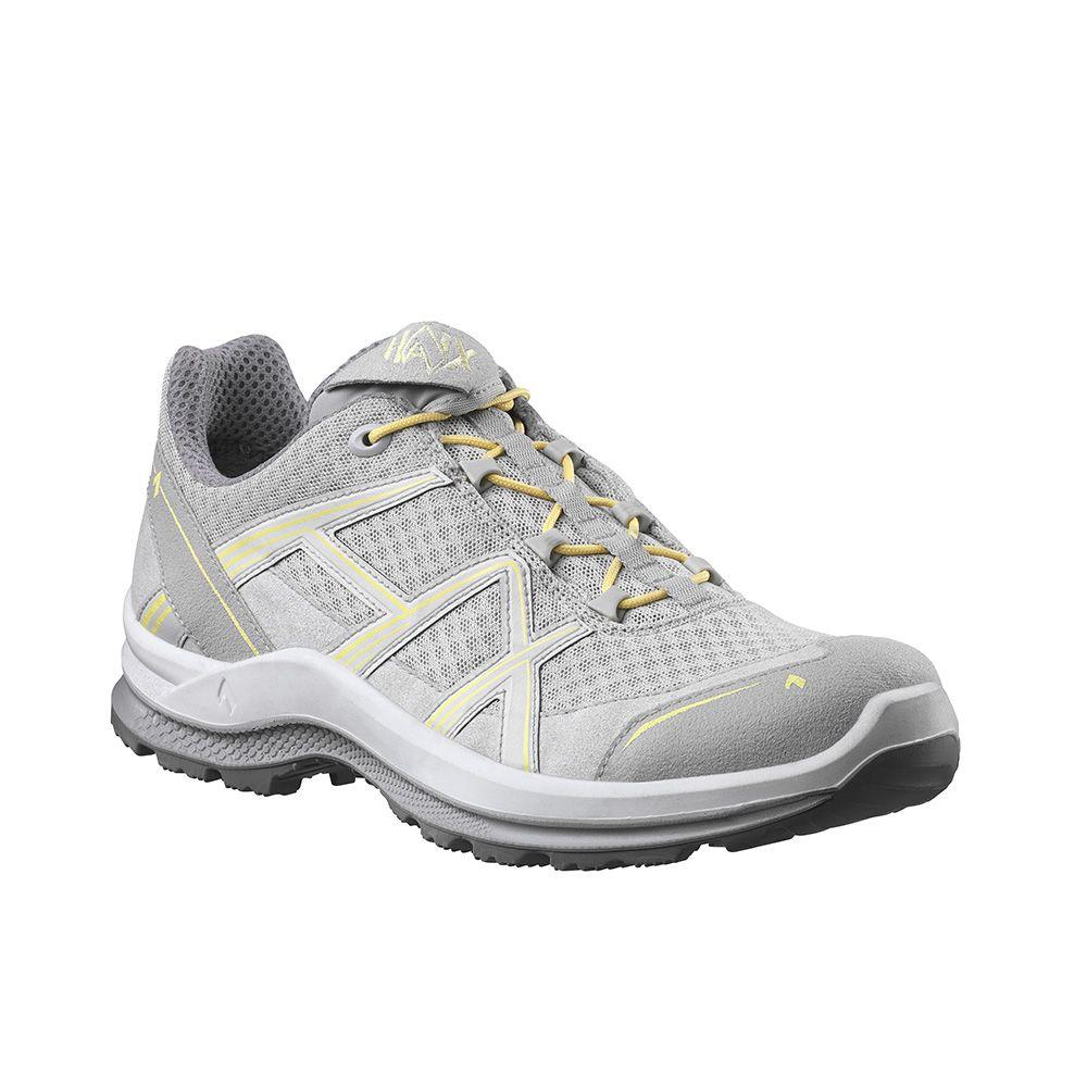 Haix CONNEXIS Safety T S1 low Sicherheitsschuhe grau-rot Schuhe Stiefel