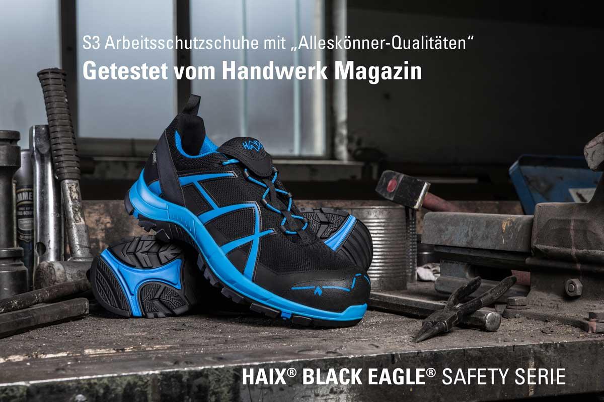 Arbeitsschutzschuhe vom Handwerk Magazin getestet