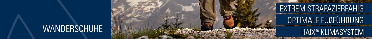 Wanderschuhe von HAIX: Für jeden Ausflug der passende Schuh