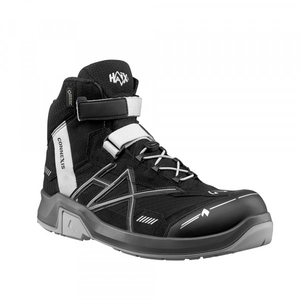 HAIX CONNEXIS Safety GTX S3 mid black-silver