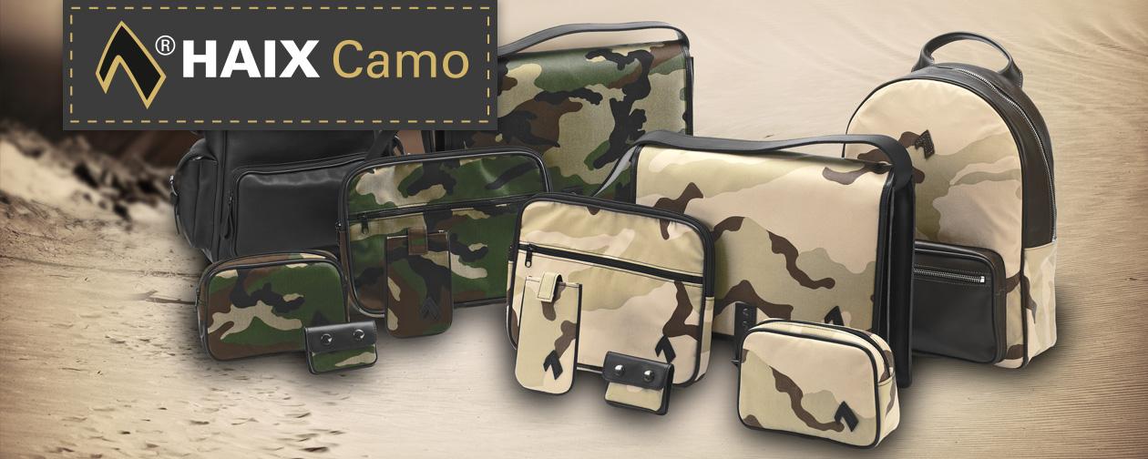 HAIX Camouflage - Taschen im Military Look