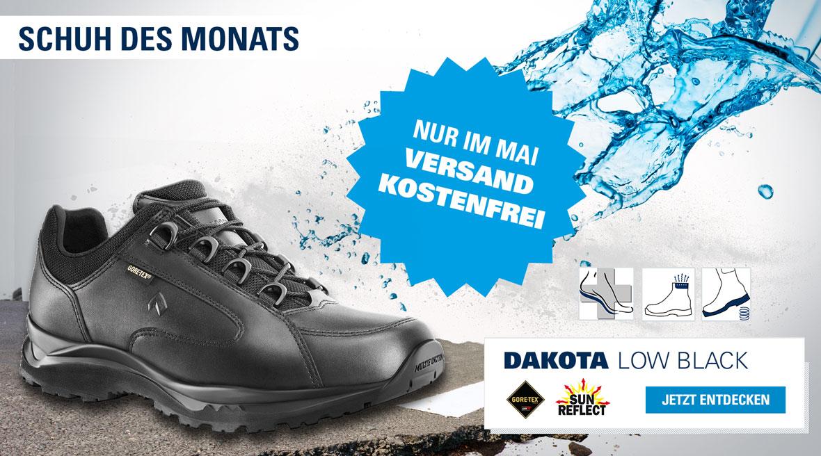 Dakota Low Black Schuh des Monats